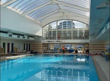 st kilda sea baths pool painting